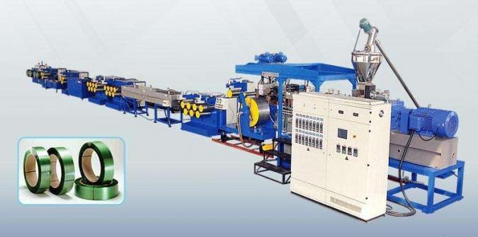 Линия по производству стреп-ленты из ПЭТ и ПП